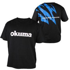 Okuma Motif Cotton Short Sleeve Shirt