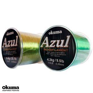 Okuma Azul Monofilament Olive Green