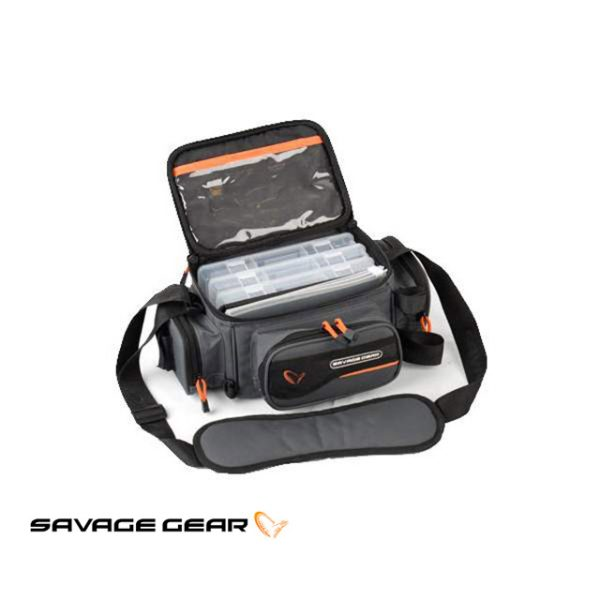 Torba Savage Gear SG System Box Bag S- 3 Boxes & PP Bags