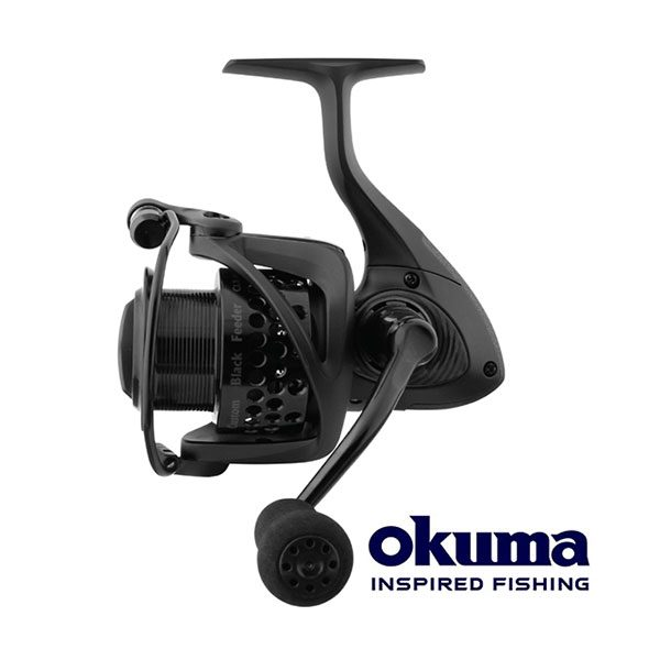 Okuma Custom Black Feeder CLX-55F
