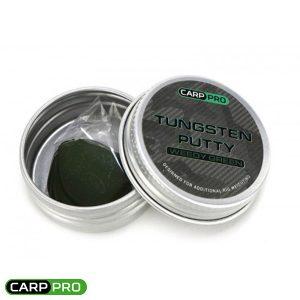 Tungsten Putty Carp Pro Weedy Green CP2301W